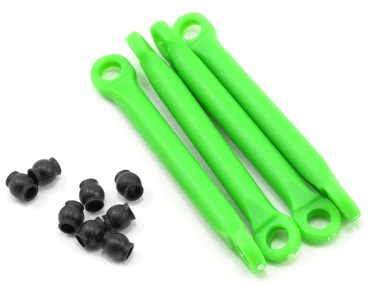 Traxxas Molded Composite Push Rod Set (Green) (4)