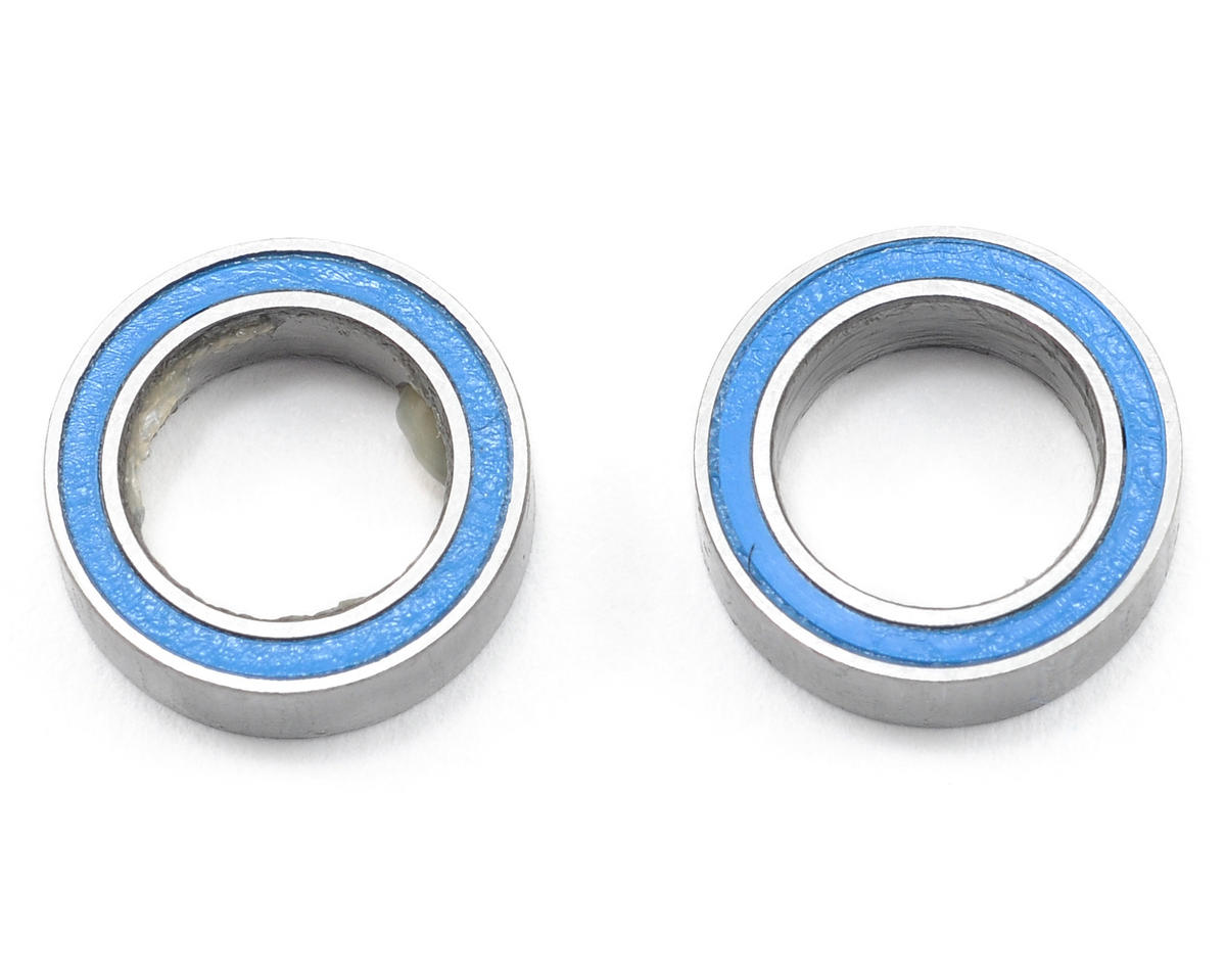 8x12x3.5mm Blue Rubber Sealed Ball Bearings (2) by Traxxas