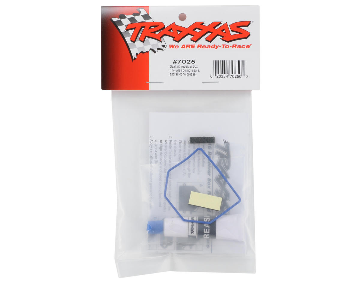 Traxxas Receiver Box Seal Kit