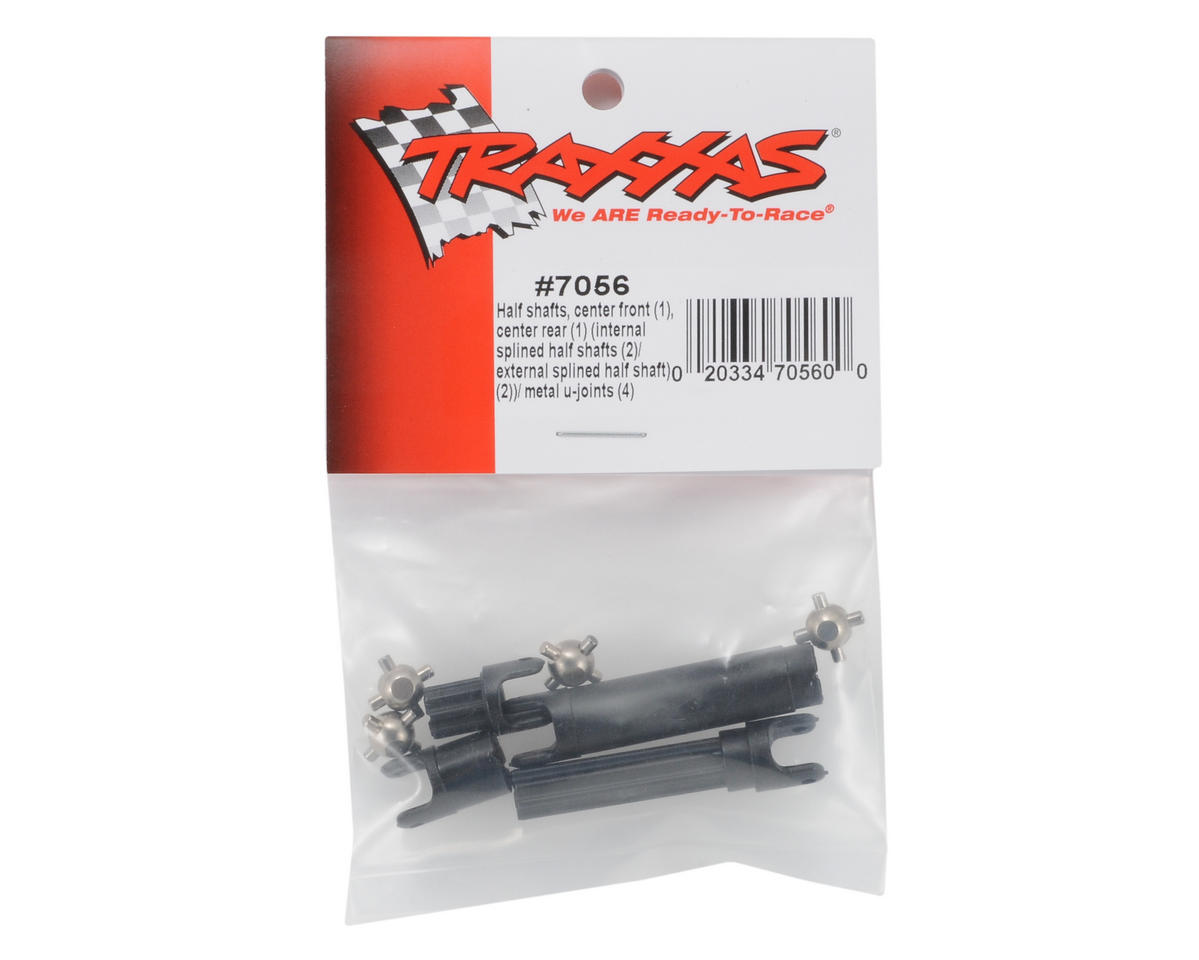 Traxxas Front/Rear Center Half Shaft (2)