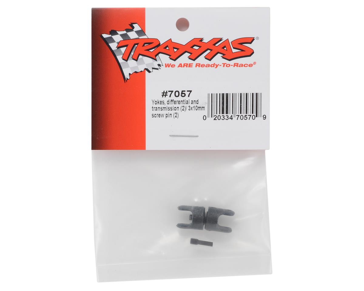 Differential & Transmission Yokes w/Hardware (2) by Traxxas