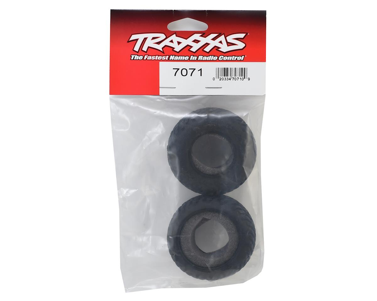 SCT Tires w/Foam Inserts (2) by Traxxas
