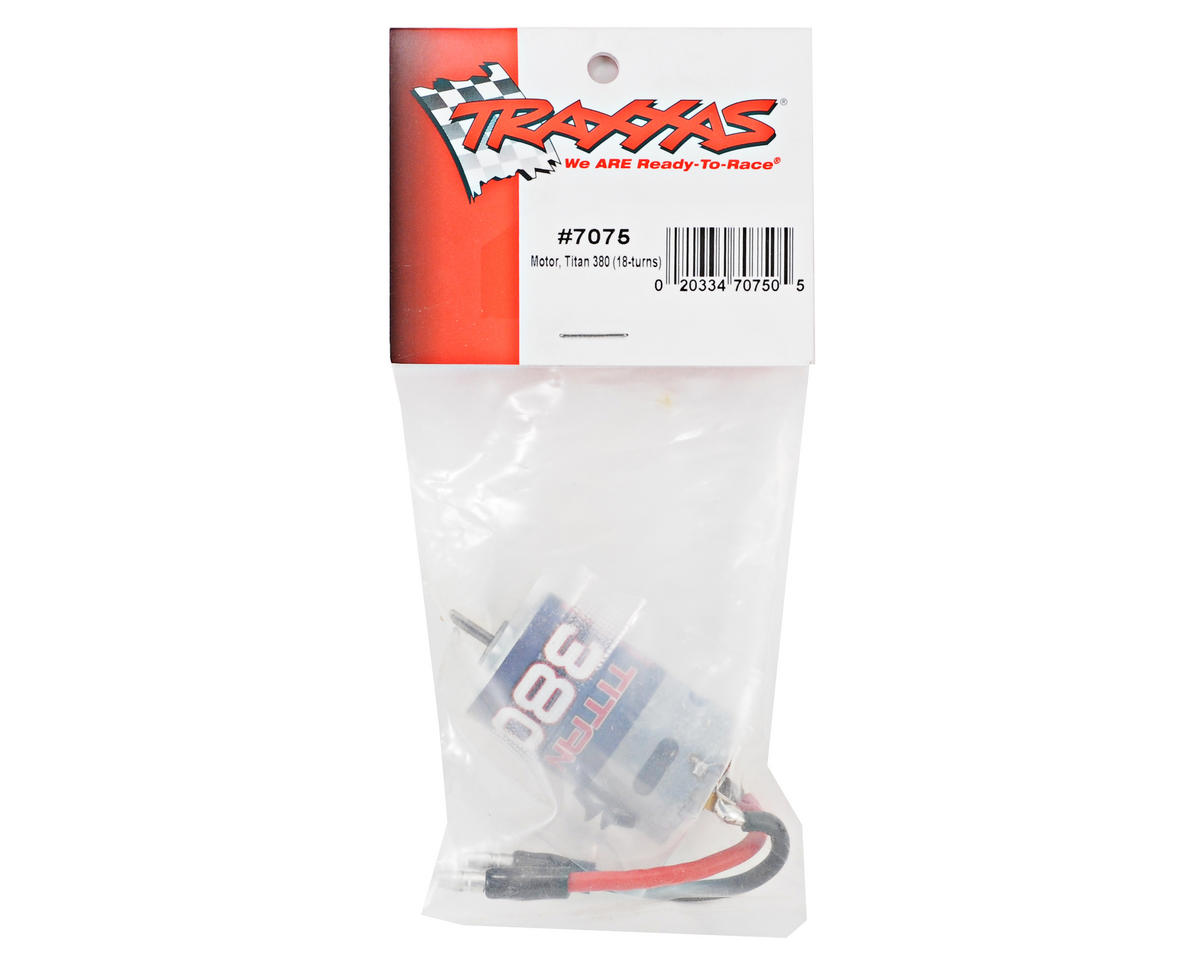 Image 2 for Traxxas Titan 380 Brushed Motor (18T)