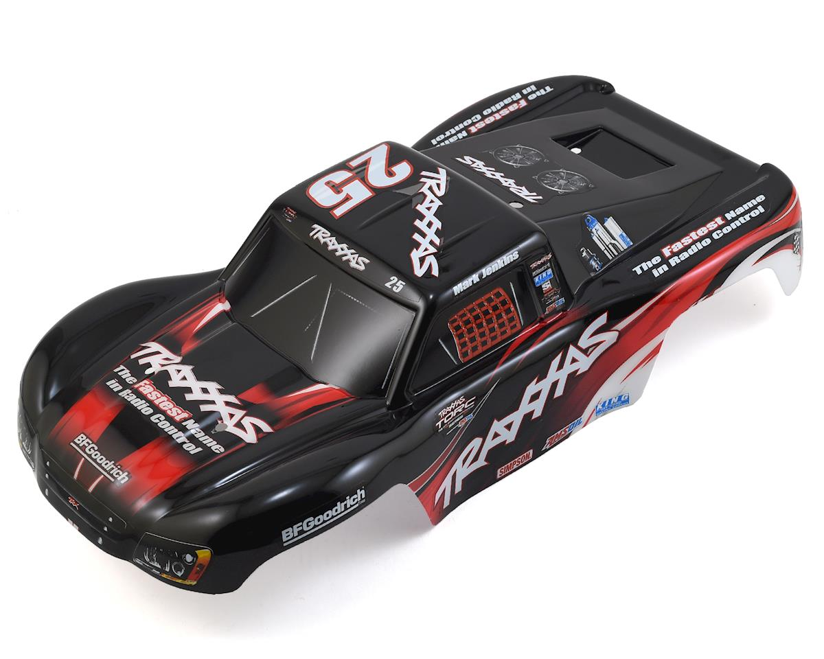 Traxxas Mark Jenkins #25 1/16 Slash Body (Graphics Painted And Decals Applied)