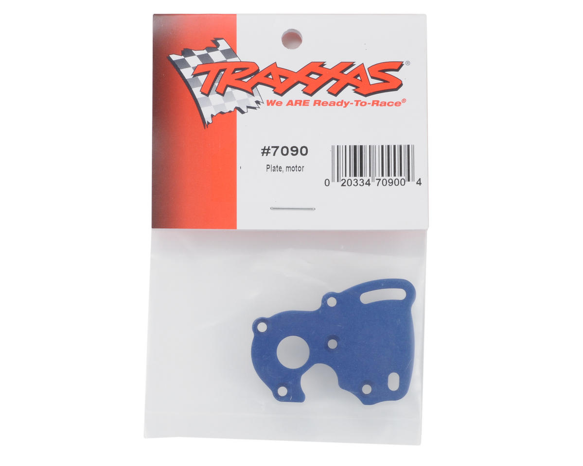 Motor Plate (Blue) by Traxxas