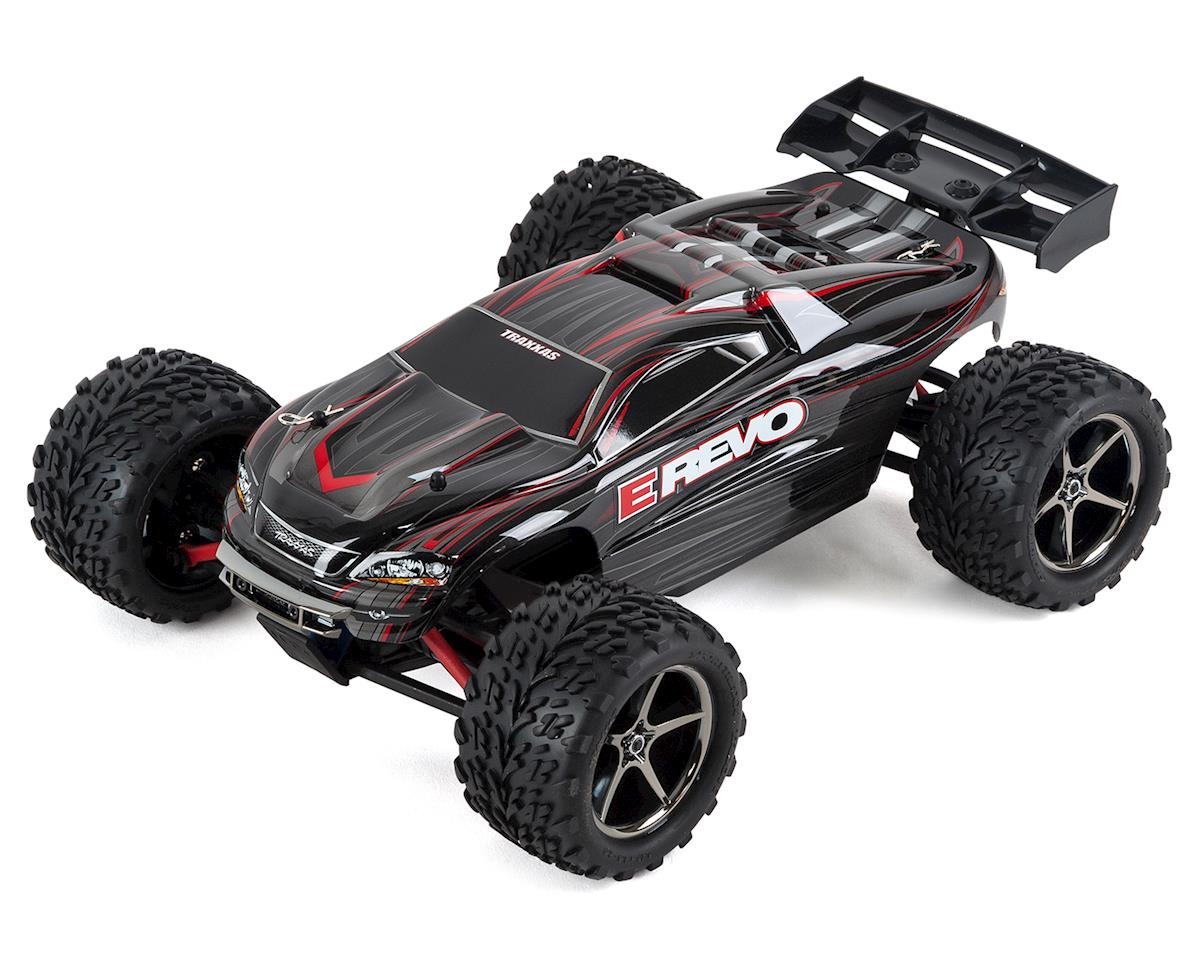 E-Revo 1/16 4WD Brushed RTR Truck (Black) by Traxxas