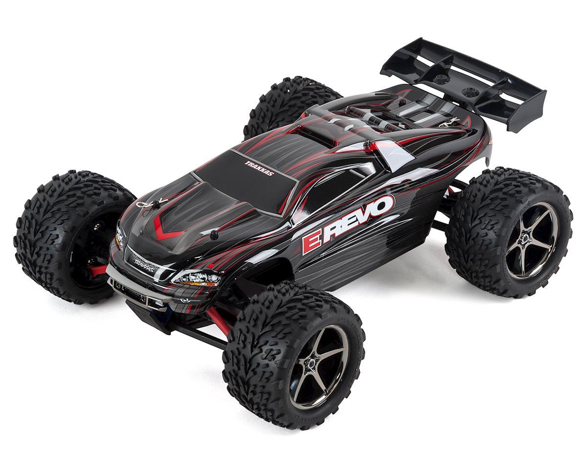Traxxas E-Revo 1/16 4WD Brushed RTR Truck (Black)