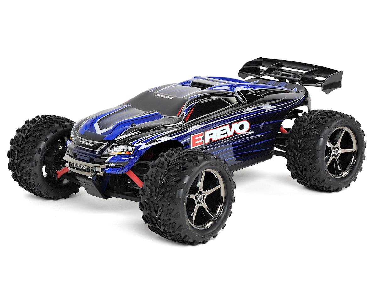 E-Revo 1/16 4WD Brushed RTR Truck (Blue) by Traxxas
