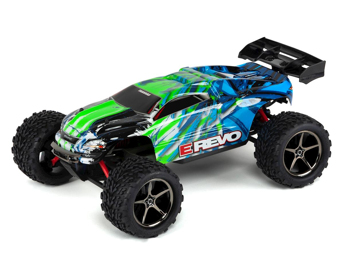 Traxxas E-Revo 1/16 4WD Brushed RTR Truck (Green)