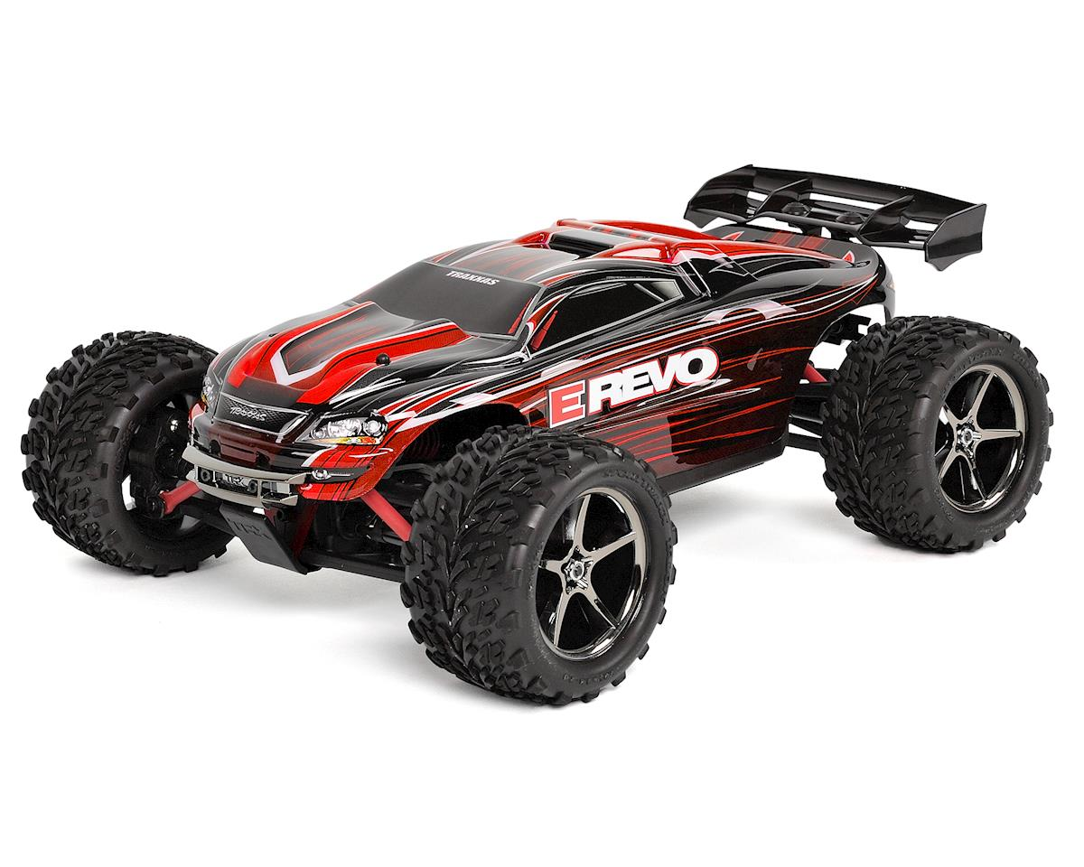 Traxxas E-Revo 1/16 4WD Brushed RTR Truck (Red)