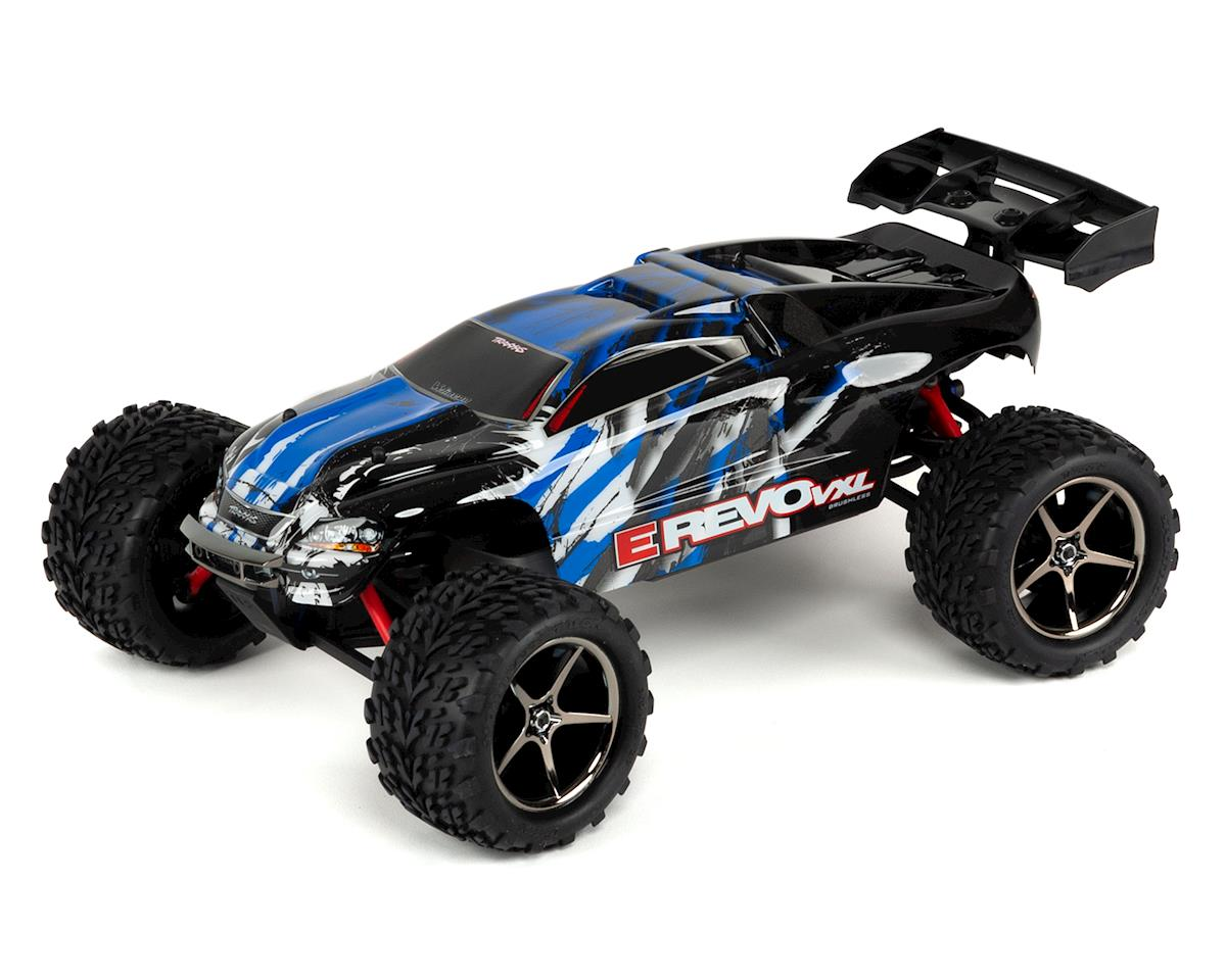 Traxxas E-Revo VXL 1/16 4WD Brushless RTR Truck (Blue)