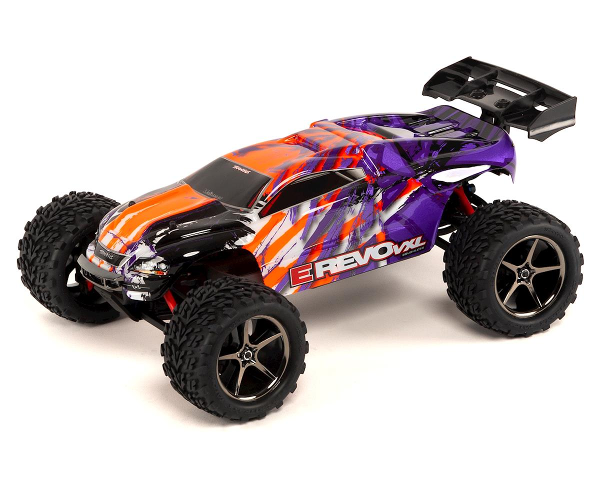 Traxxas E-Revo VXL 1/16 4WD Brushless RTR Truck (Purple) | relatedproducts
