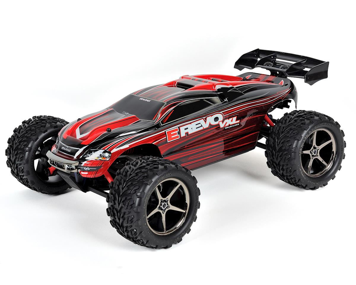 E-Revo VXL 1/16 4WD Brushless RTR Truck (Red) by Traxxas