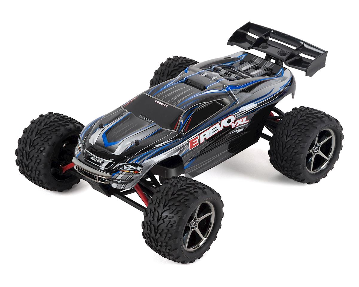 Traxxas E-Revo VXL 1/16 4WD Brushless RTR Truck (Silver)