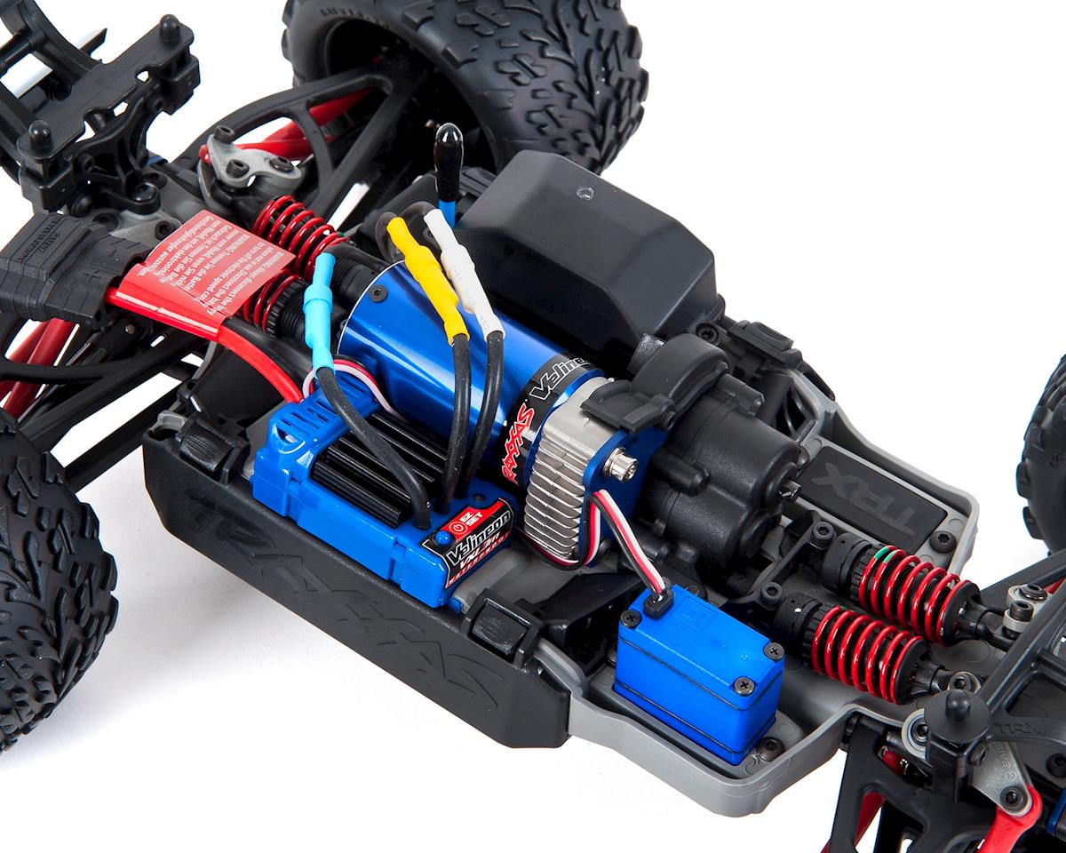 Traxxas E Revo Vxl 1 16 4wd Brushless Rtr Truck Silver Tra71076 3 Wire Harness W Tqi 24ghz Radio Tsm Battery Dc Charger