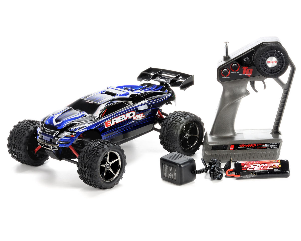 Traxxas 1/16 E-Revo VXL 4WD Brushless Truck (w/Battery & Wall Charger)