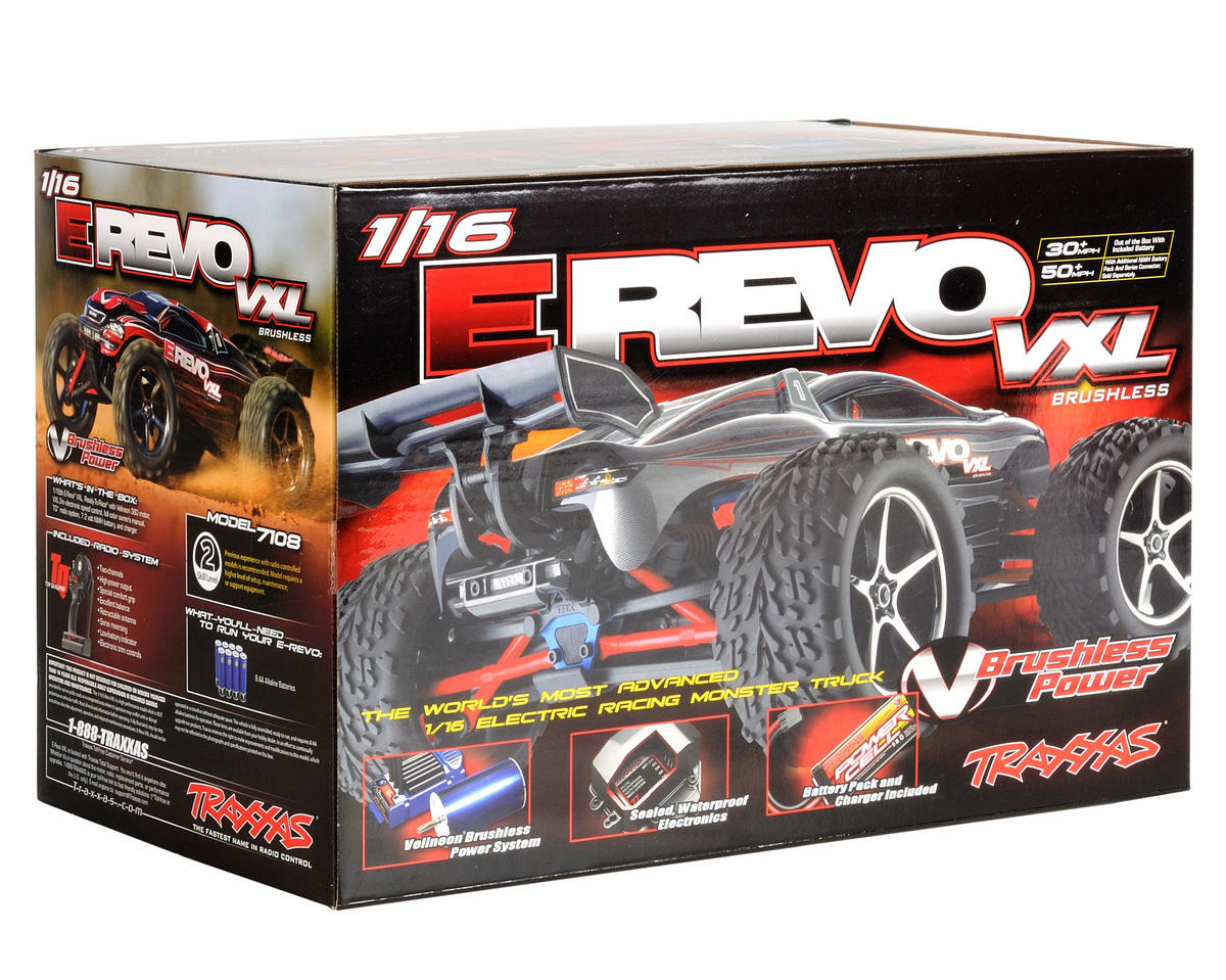 Image 5 for Traxxas 1/16 E-Revo VXL 4WD Brushless Truck (w/Battery & Wall Charger)