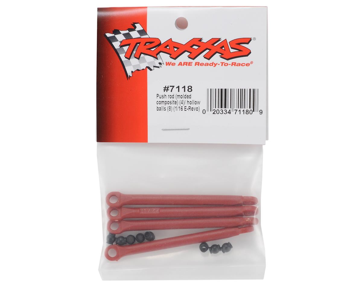 Traxxas Molded Composite Push Rod Set (4)