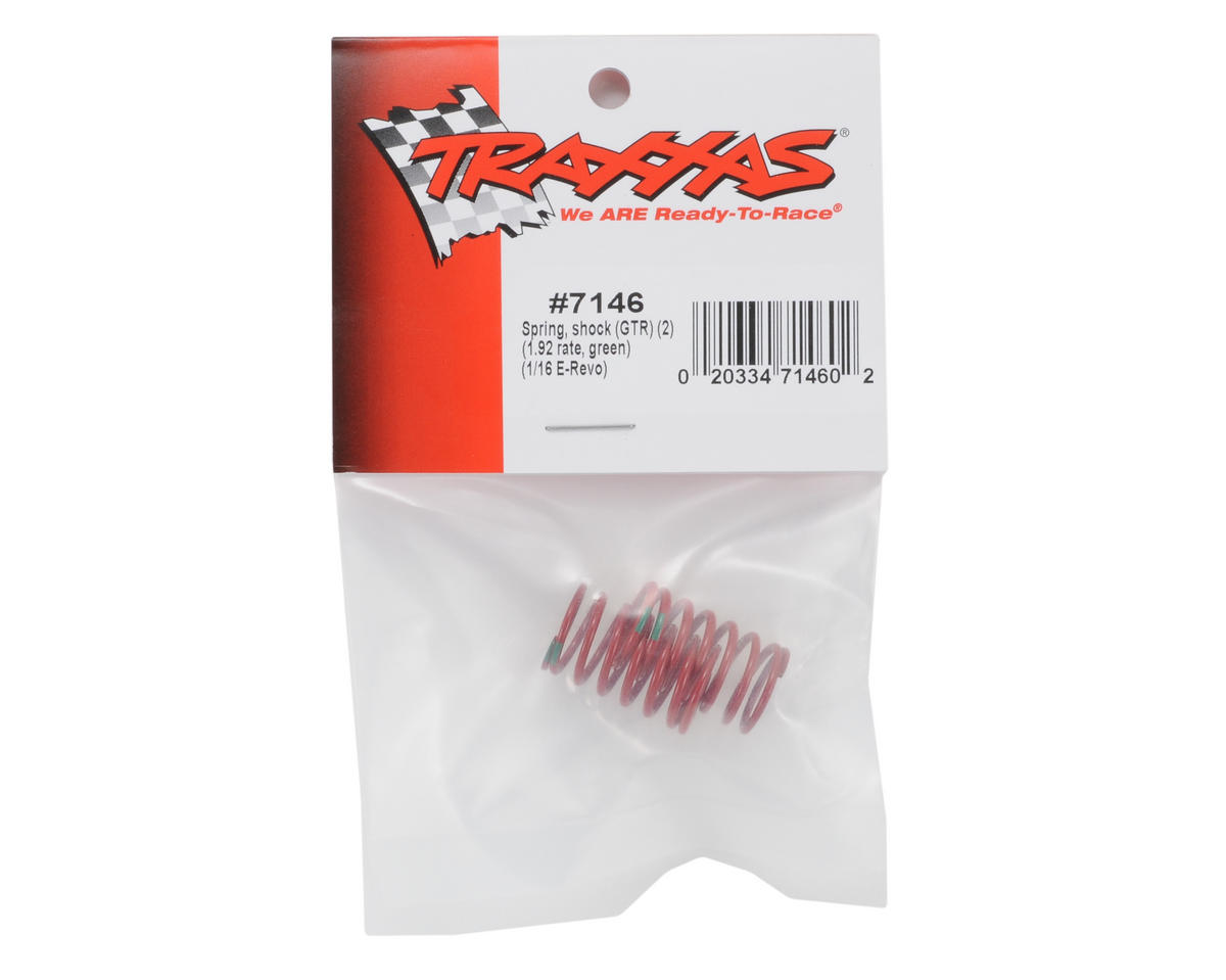 Image 2 for Traxxas GTR Shock Spring Set (Green - 1.92) (2) (1/16 E-Revo)