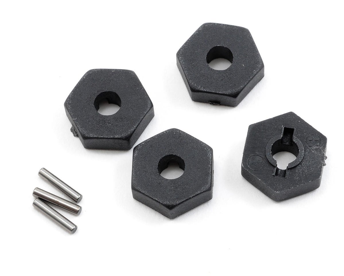 Traxxas 1/16 Mustang 12mm Hex Wheel Hubs w/Axle Pins (4)
