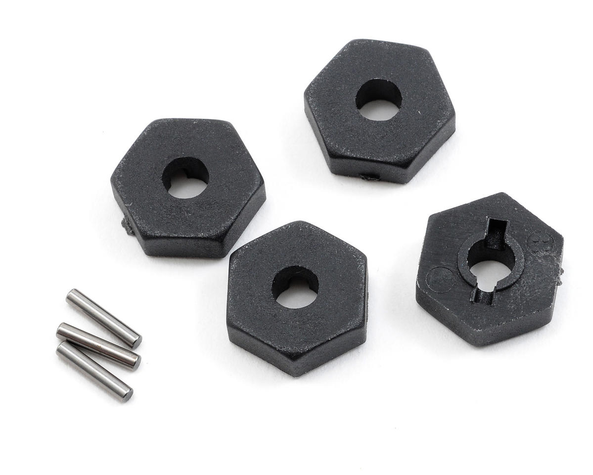Traxxas 12mm Hex Wheel Hubs w/Axle Pins (4)