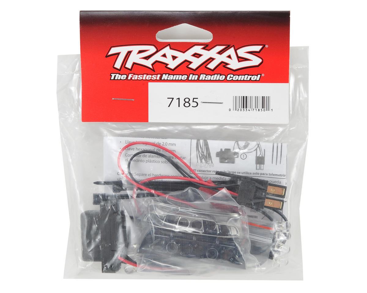 Complete LED Light Kit (Red) (2) (1/16 E-Revo) by Traxxas