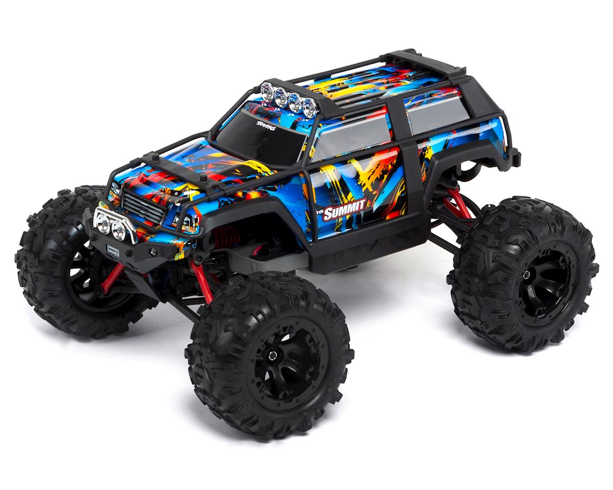 Traxxas Summit 1/16 4WD RTR Truck (Rock n Roll) w/TQ Radio, LED Lights, Battery