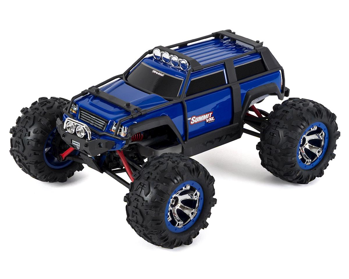 Summit VXL 1/16 4WD Brushless RTR Truck (Blue) by Traxxas