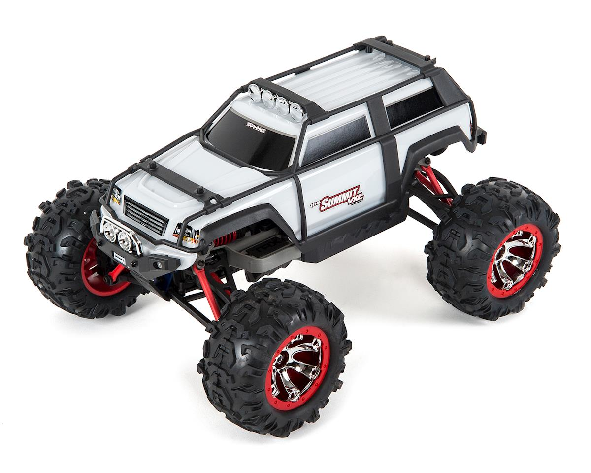 Traxxas Summit Vxl 1 16 4wd Brushless Rtr Truck White Tra72076 3 Stampede Parts Diagram Slash 4x4 Exploded View Wht Cars Trucks Amain Hobbies