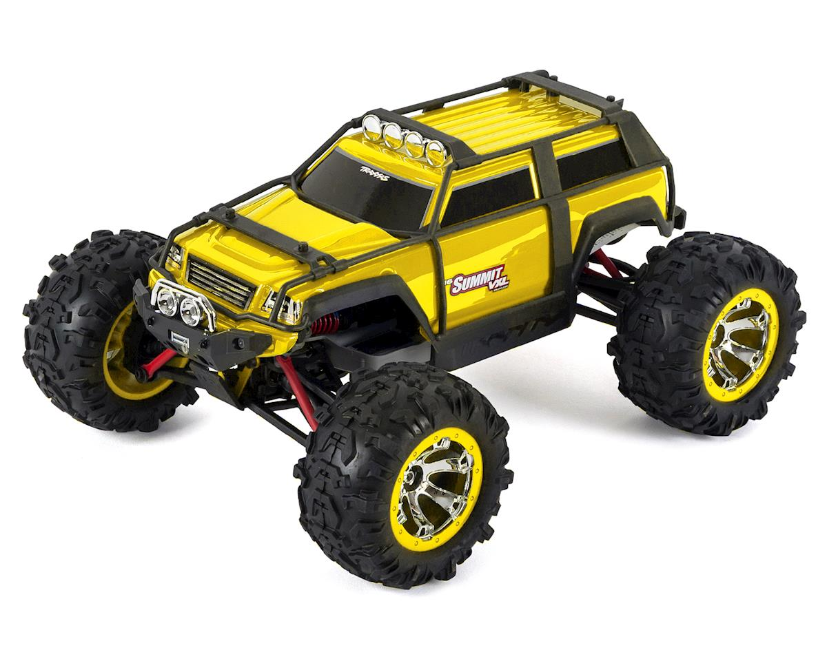 Summit VXL 1/16 4WD Brushless RTR Truck (Yellow) by Traxxas