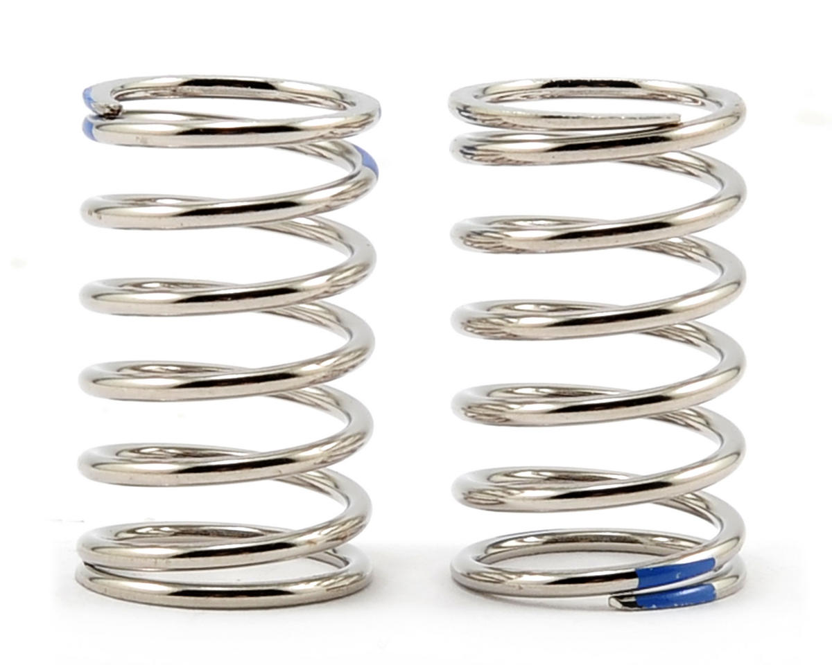 "Traxxas 1/16 Grave Digger GTR ""Nickel Finish"" Shock Spring Set (2.925 Rate - Blue) (2)"