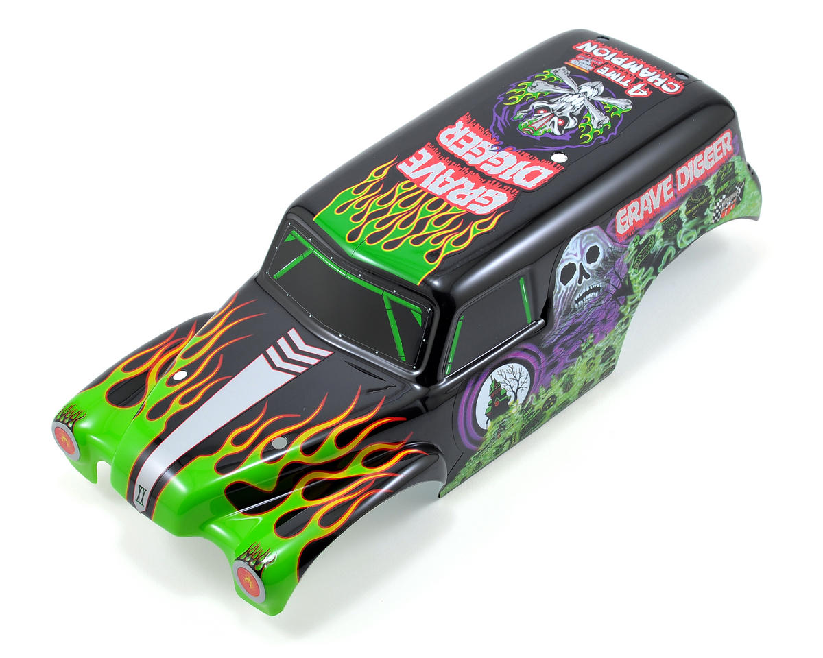 Traxxas 1/16 Grave Digger Painted Body