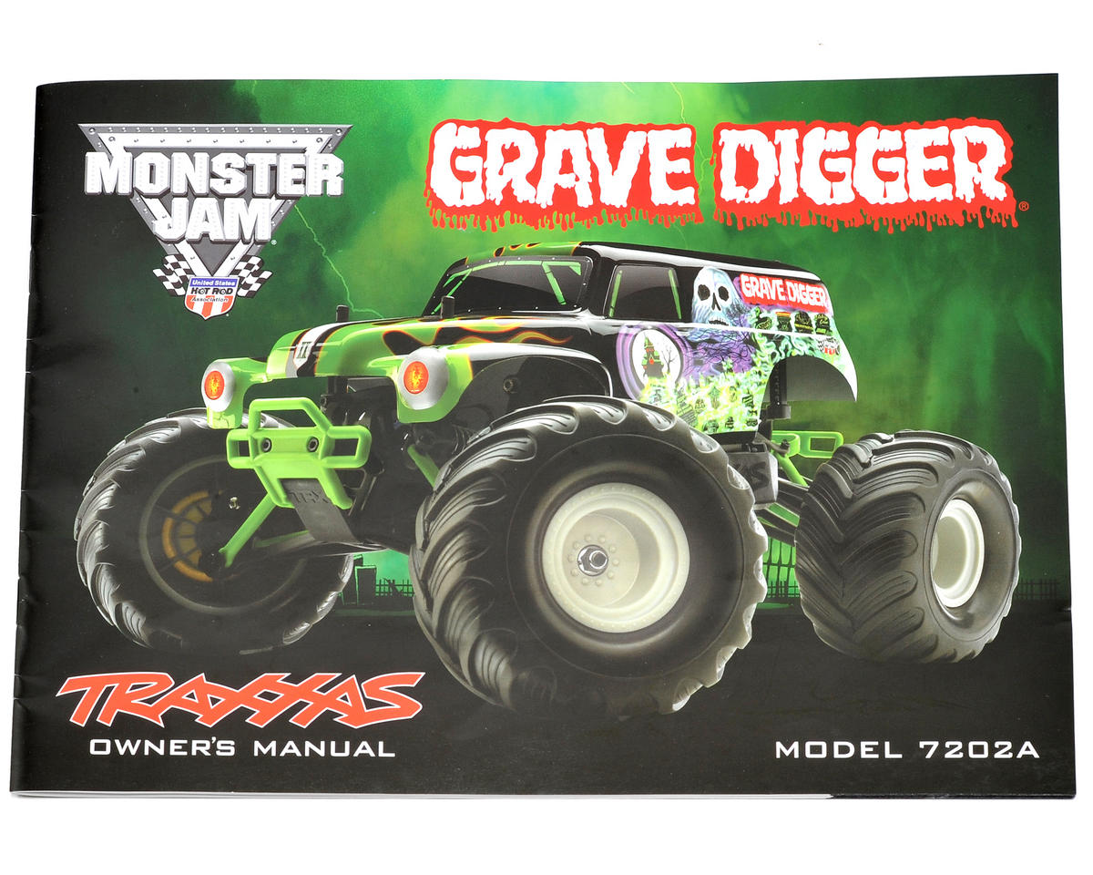 Traxxas 1/16 Grave Digger Owners Manual
