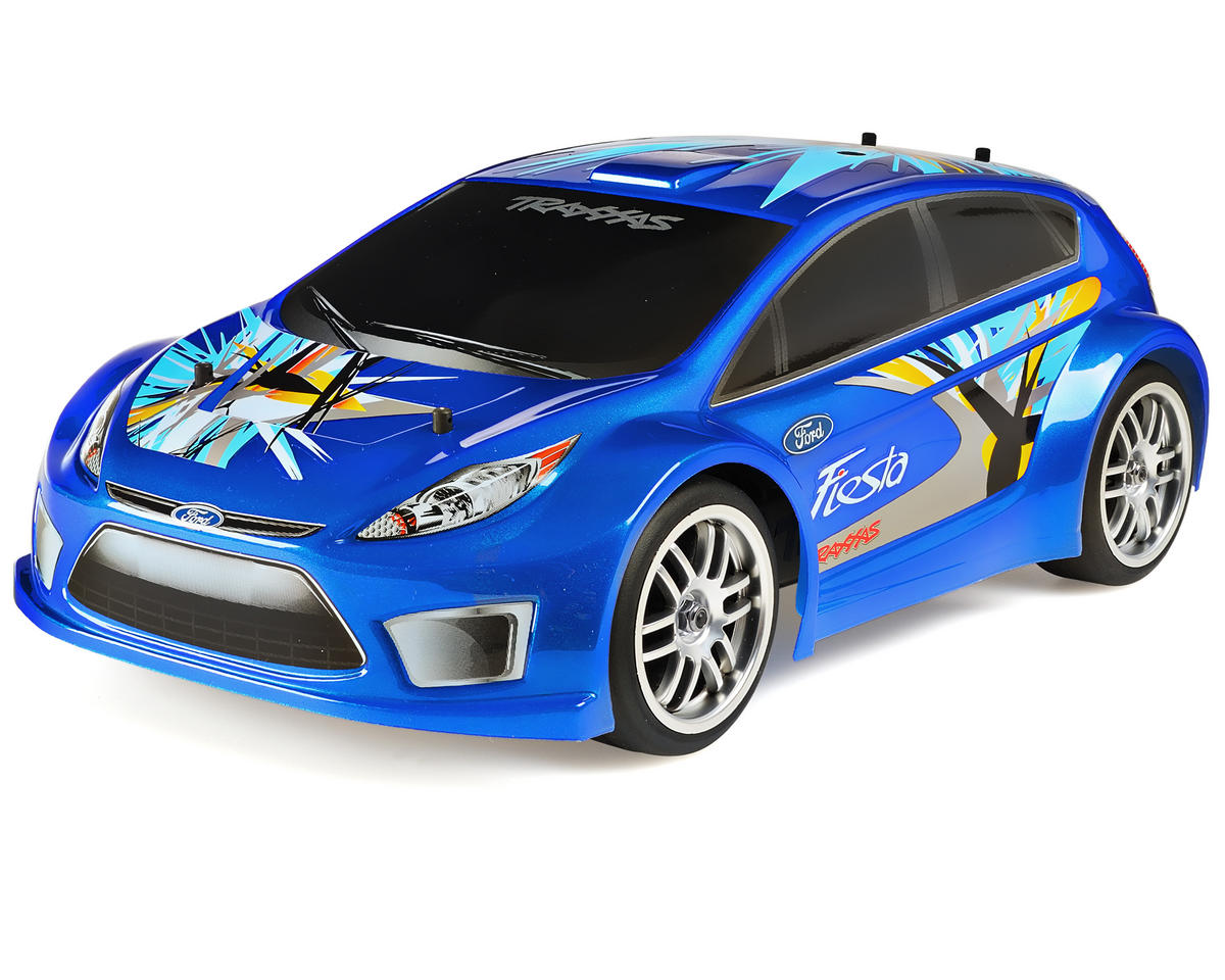 Traxxas 1/16 Ford Fiesta RTR Rally Racer (w/AM Radio)