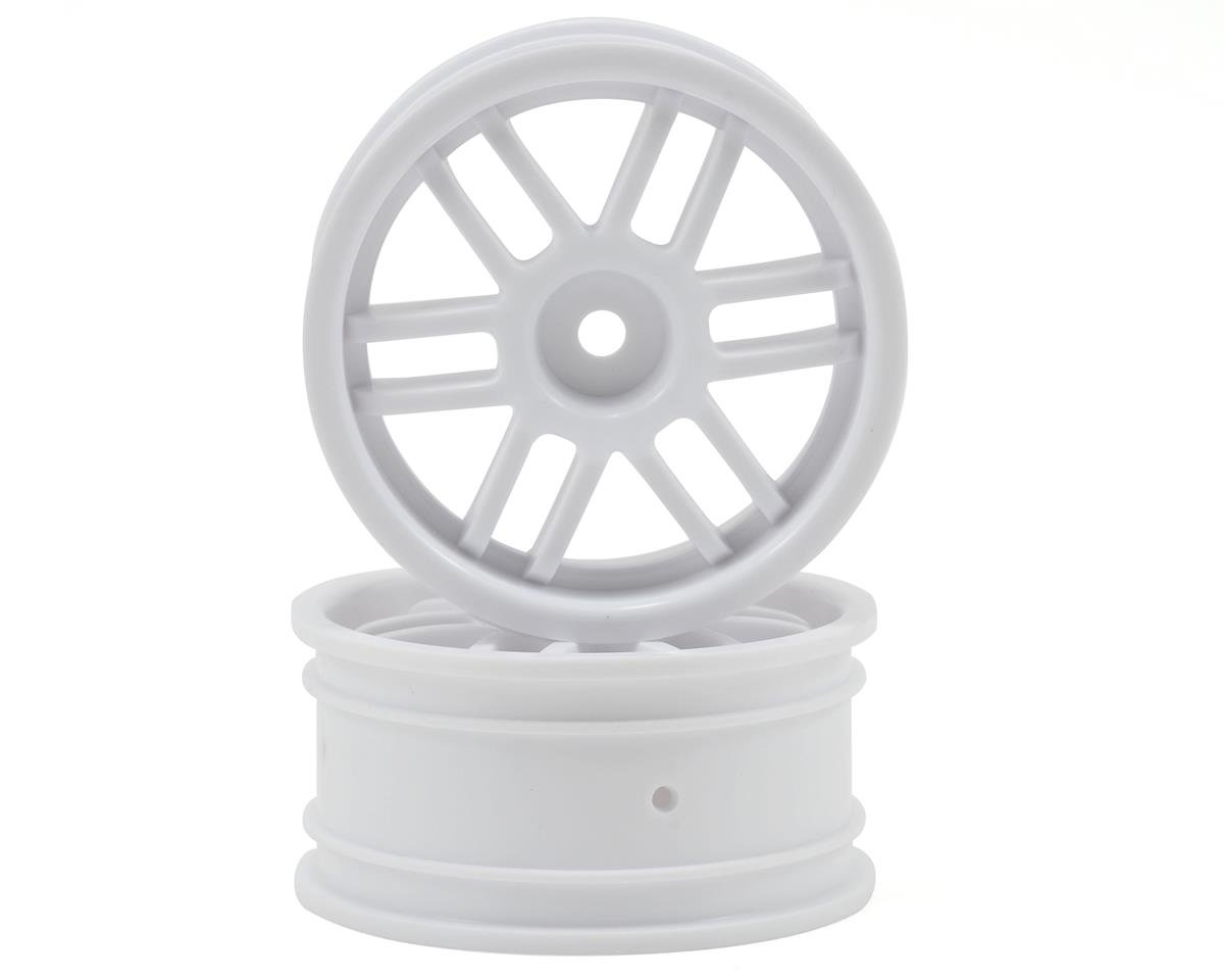12mm Hex 1/16 Rally Wheels (2) (White) by Traxxas
