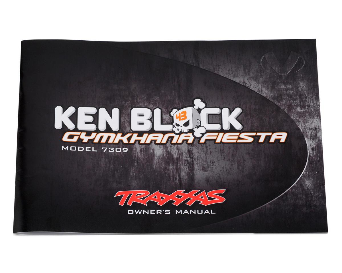 Traxxas Owners Manual 1/16 Ken Block Gymkhana Fiesta
