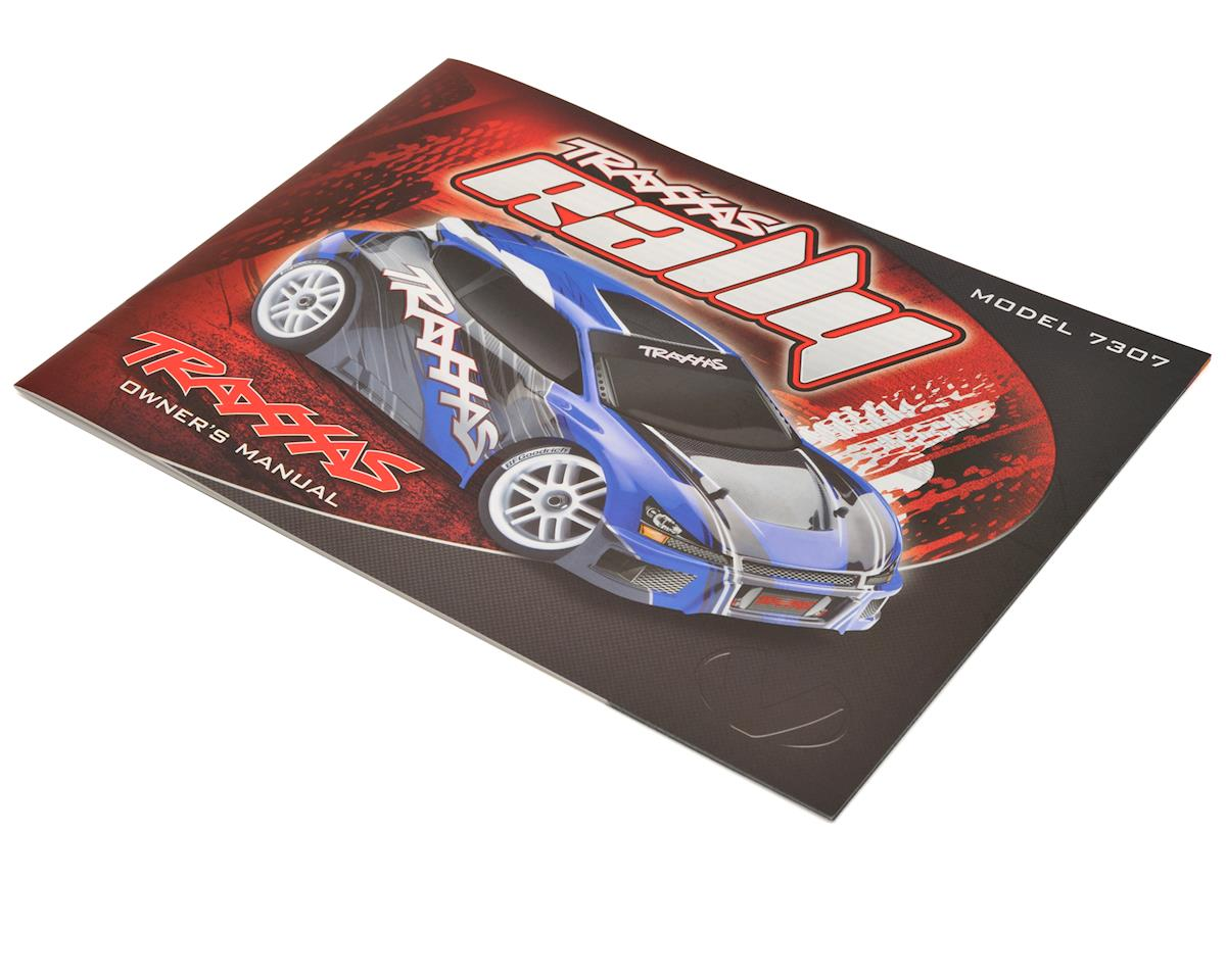 1/16 Rally Owners Manual by Traxxas