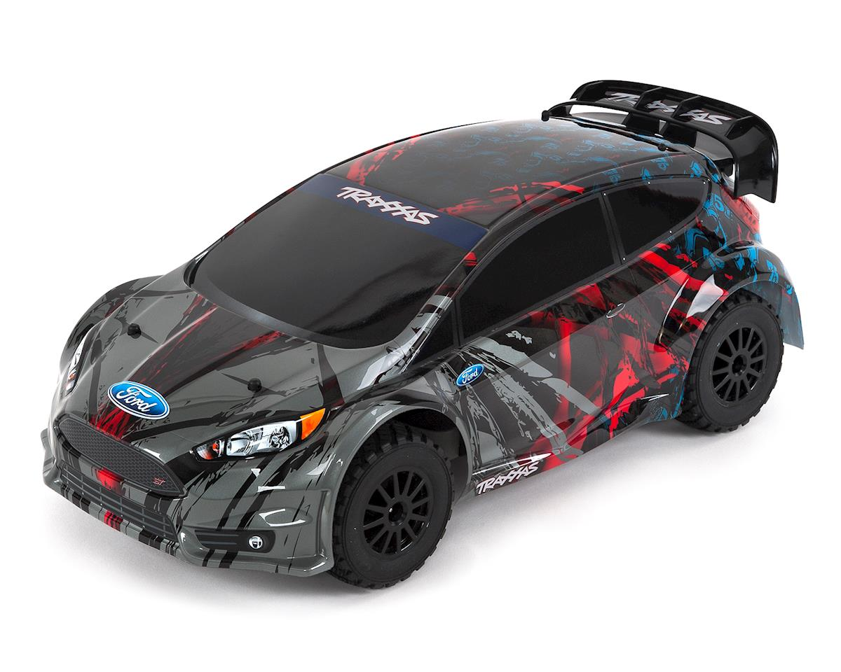 Traxxas Ford Fiesta ST Rally RTR 1/10 4WD Rally Car