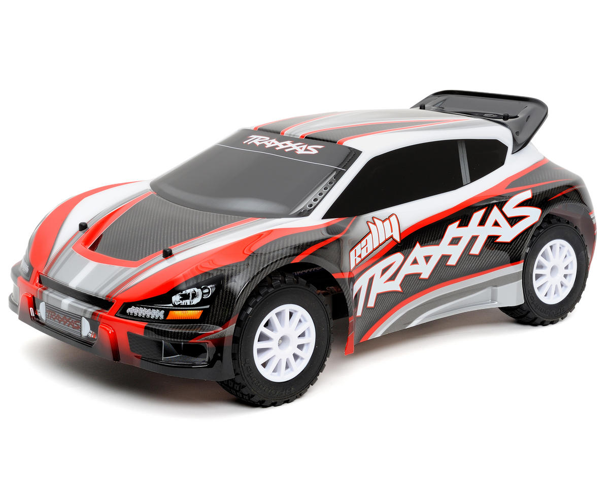 Traxxas 1/10 Rally 4WD Brushless RTR Rally Racer w/TQi 2.4GHz 2-Channel Radio