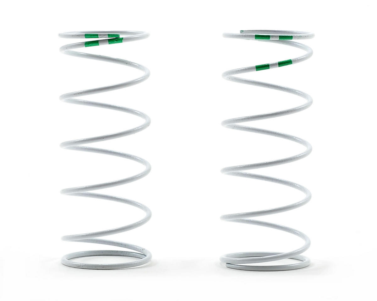 Progressive Rate Long GTR Shock Springs (Green - 0.653 Rate) (2) by Traxxas