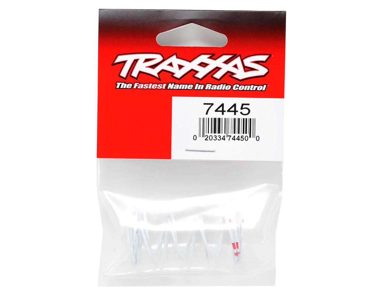 Traxxas Progressive Rate Long GTR Shock Springs (Pink - 0.810 Rate) (2)