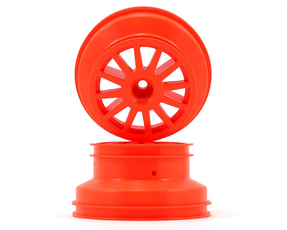 Rally Wheel (Orange) (2) by Traxxas