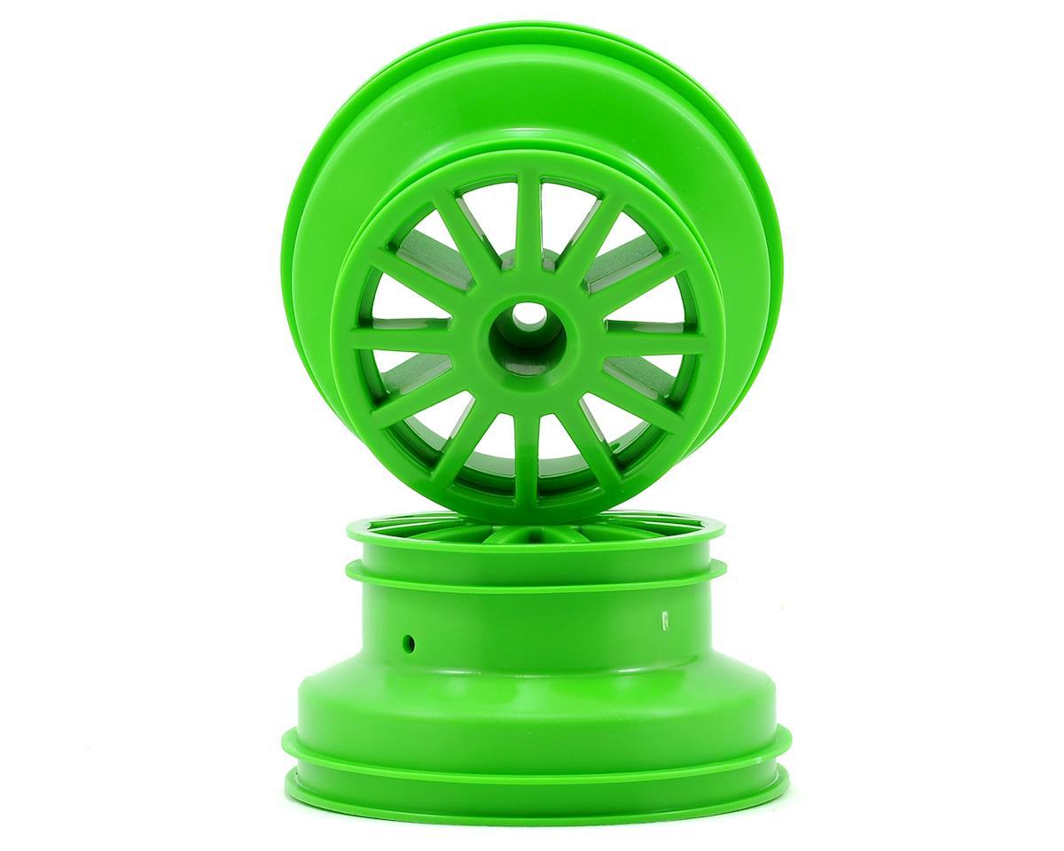 Traxxas Rally Wheel (Green) (2)