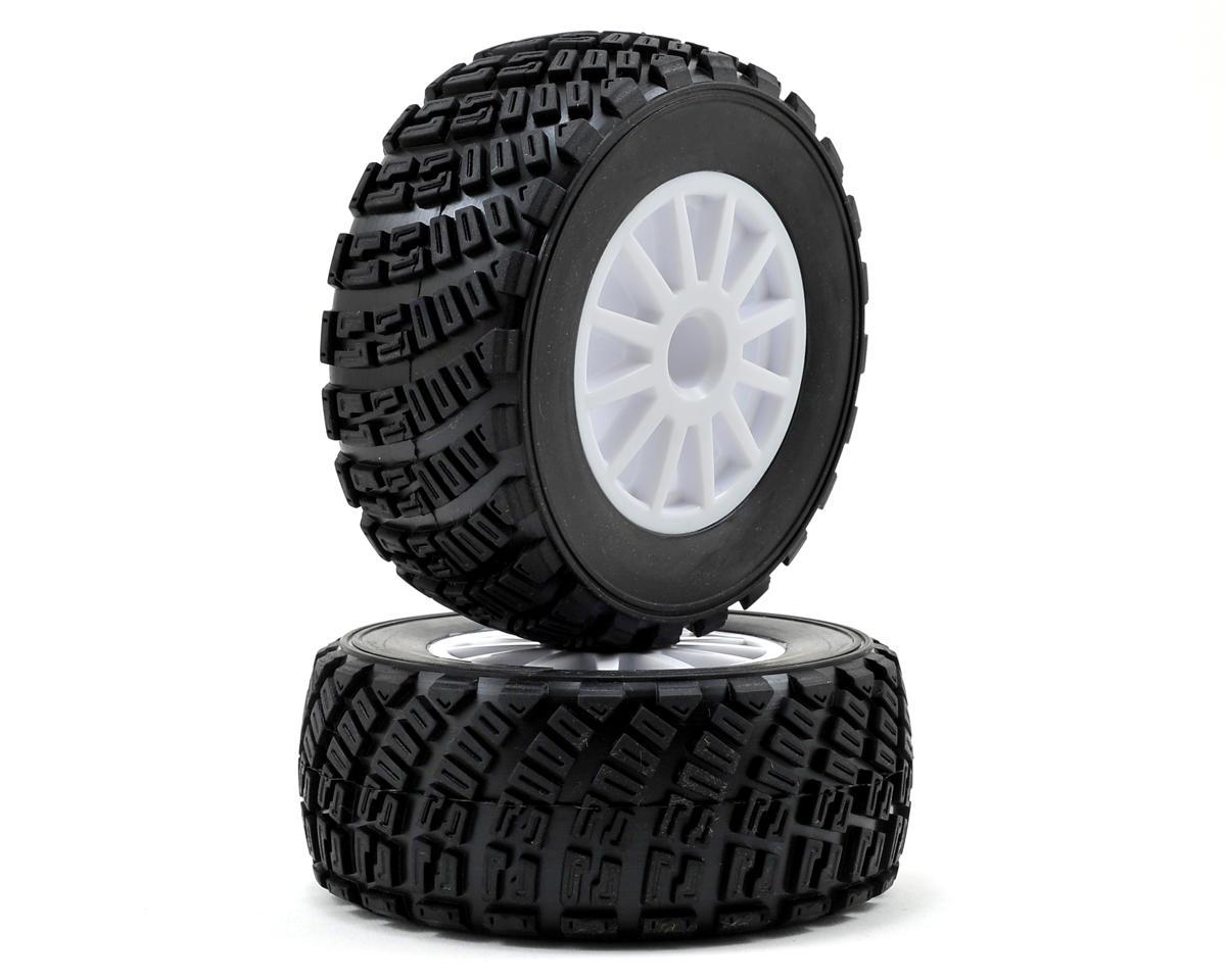 Traxxas BFGoodrich Rally Tire w/Rally Wheel (2) (White) (Standard)