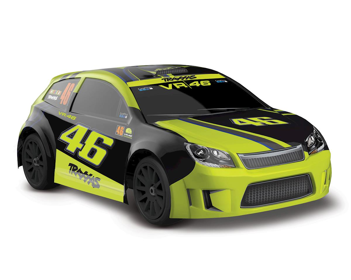 Traxxas LaTrax VR46 Ford Fiesta ST Rally RTR 1/18 4WD Rally (Valentino Rossi)