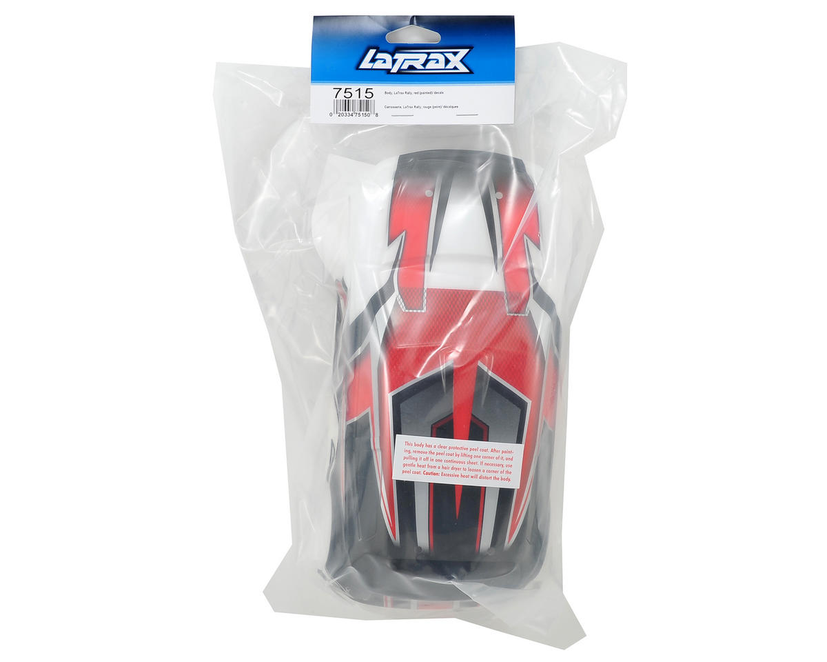 Image 2 for Traxxas LaTrax 1/18 Rally Body (Red)