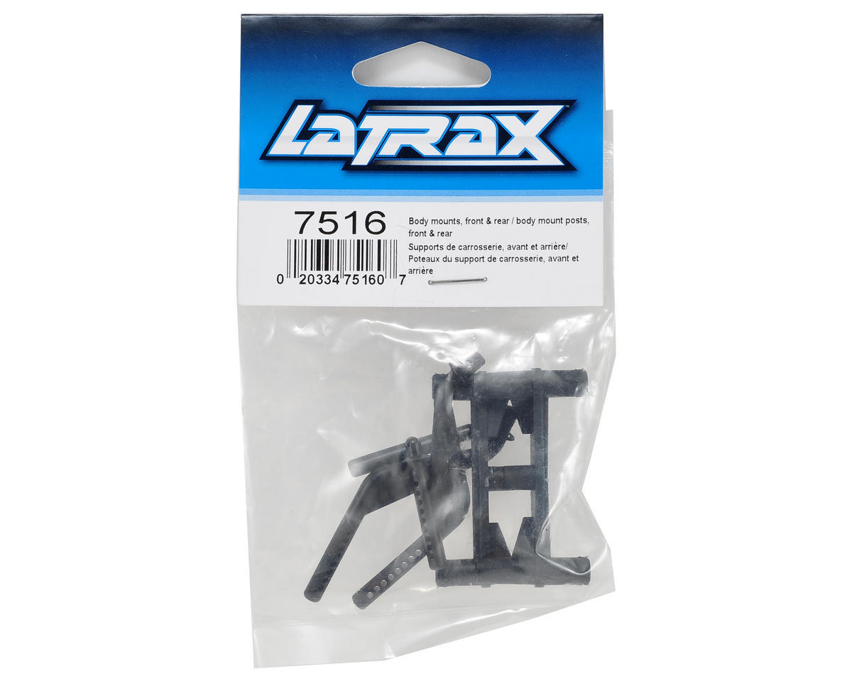 Traxxas LaTrax Front & Rear Body Mount Set