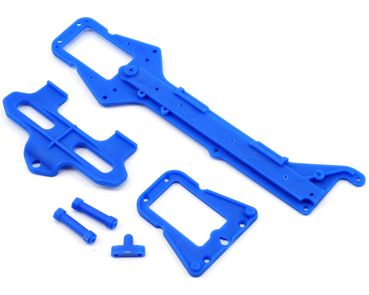 LaTrax 1/18 Rally Upper Chassis & Battery Hold Down Set by Traxxas