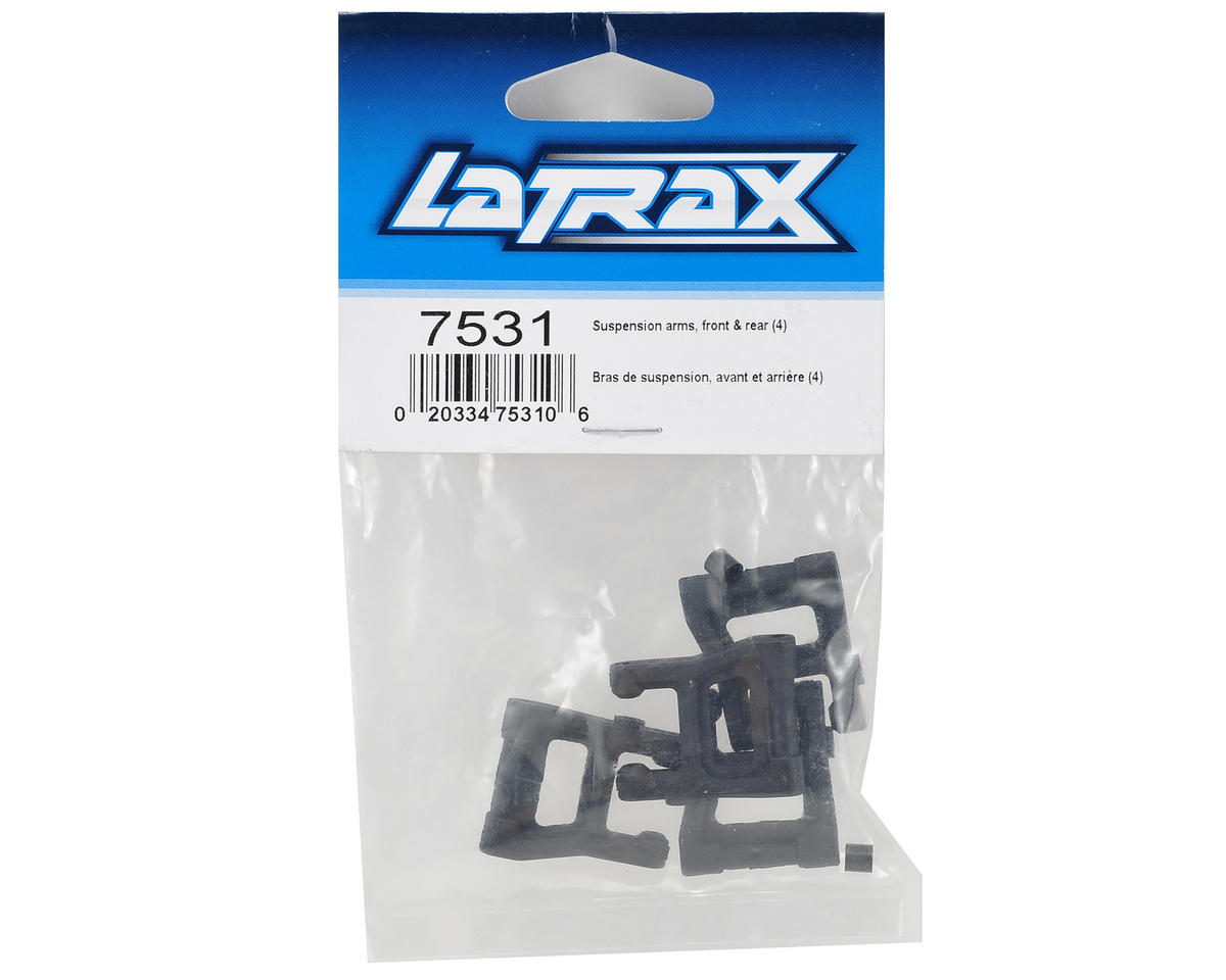 Traxxas LaTrax Front & Rear Suspension Arm Set (4)