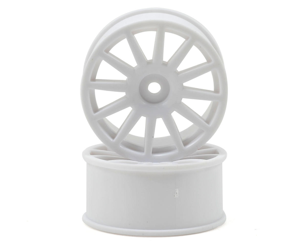 8.5mm Hex LaTrax 12-Spoke Wheels (2) (White) by Traxxas
